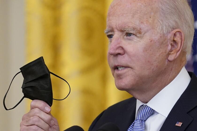 Biden impone reglas de vacunación a trabajadores federales