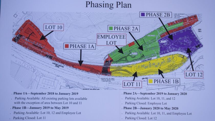 Village Entrance project phasing plan rendering is displayed at the ground breaking cereomny on Tues