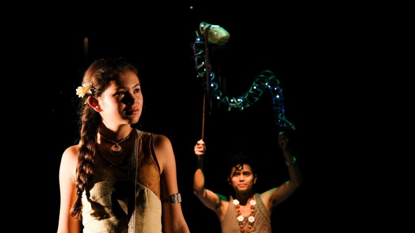 """""""Sina and the Eel"""" at the Plays By Young Writers Festival"""