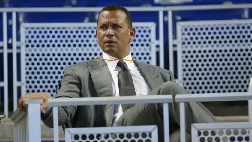 Former major leaguer Alex Rodriguez hopes he'll be inducted into the Baseball Hall of Fame someday.