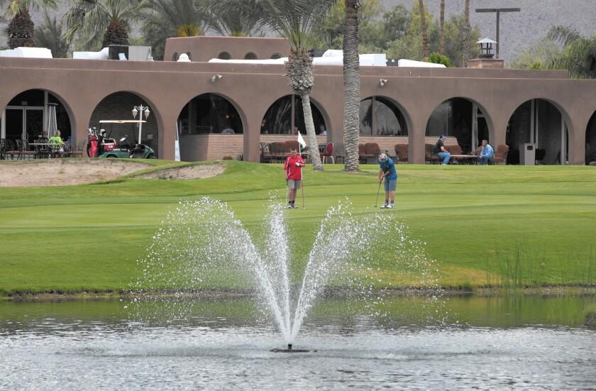 Borrego Springs golf course