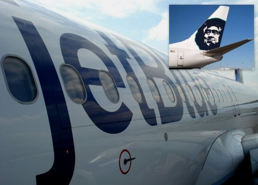 Among traditional carriers Alaska scored first, and among low-cost carriers JetBlue was No. 1 in the most recent J.D. Power & Associates airline satisfaction survey.