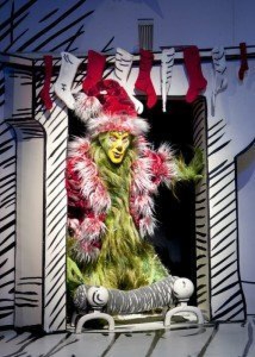 Steve Blanchard as The Grinch. Courtesy photos.