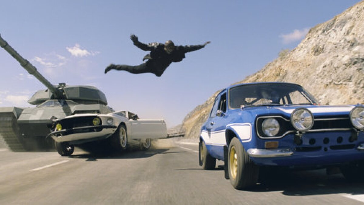 Cars Crashed Smashed And Trashed In Fast Furious 6 Los Angeles Times