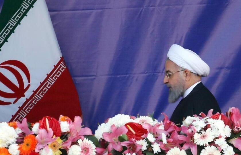 El presidente iraní, Hasan Rohaní. EFE/Archivo