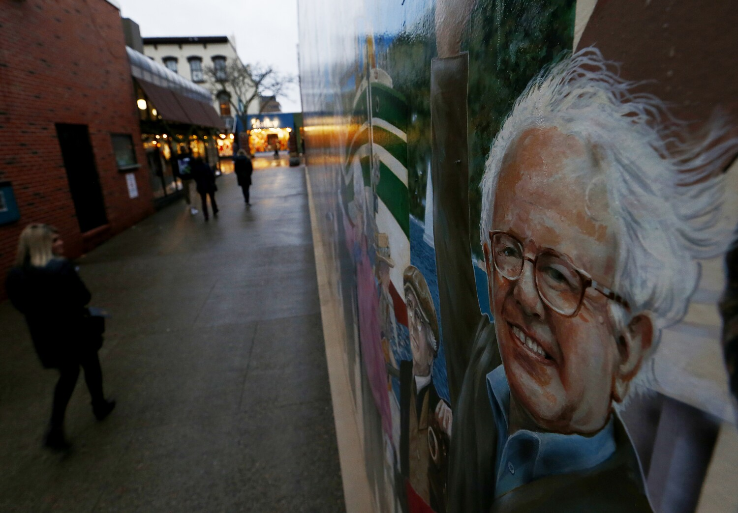 Bernie Sanders shaped this small city, and it gave him a moonshot to the national stage