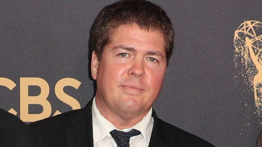 Tyler Grasham at the 2017 Emmy Awards in Los Angeles.