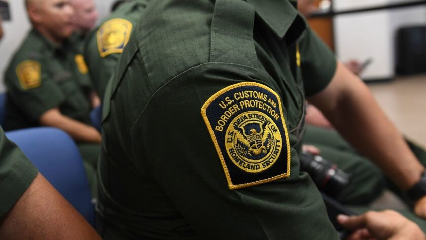 U.S. Customs and Border Protection agent