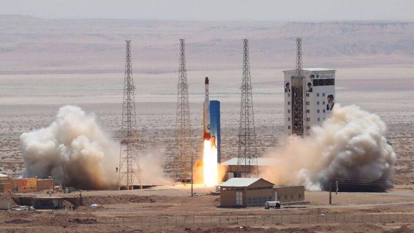 Iran successfuly test satellite-launch rocket