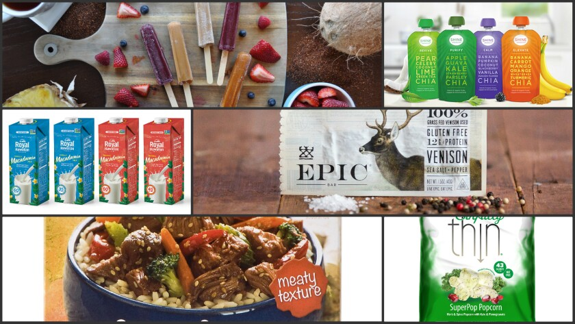 Just a sampling of some new health foods heading to a market near you.