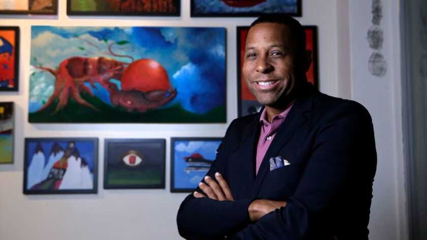 Tony Brown is executive director of HOLA, which leads after-school programs in music, art, academic programs and athletics.