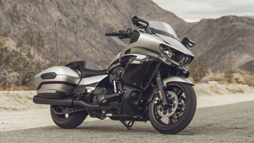 Review: Yamaha's new Star Eluder could compete with baggers from