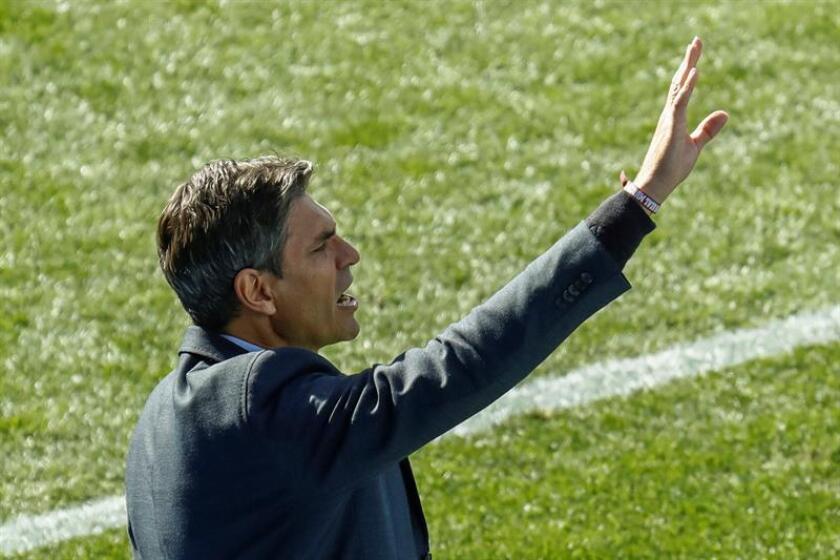 El entrenador del Leganés, el argentino Mauricio Pellegrino. EFE/Archivo