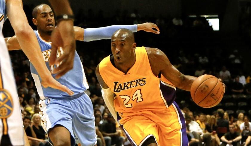 Kobe Bryant, Arron Afflalo