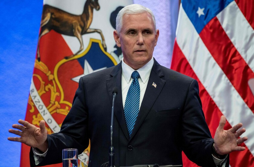 Former Vice President Mike Pence has written an op-ed piece casting doubt on the integrity of the 2020 election.
