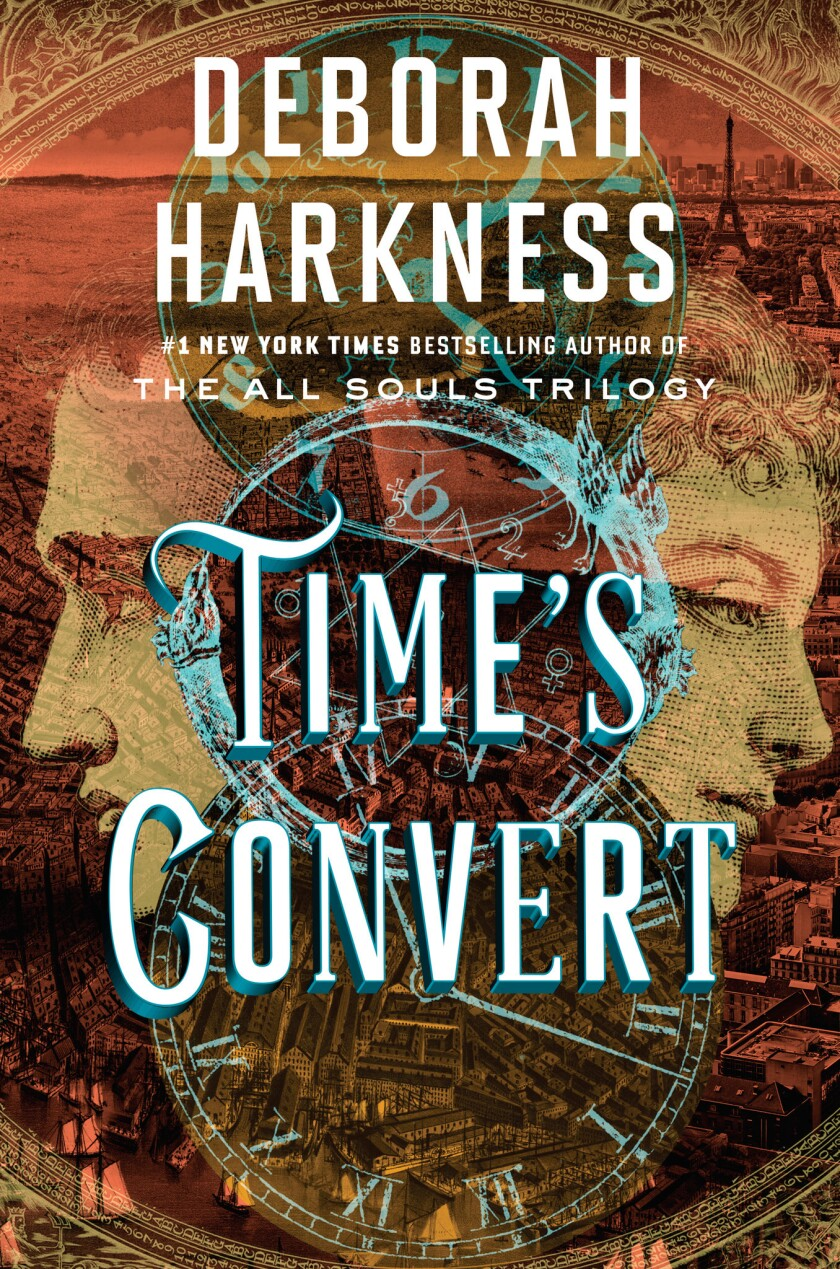 "Book jacket for ""Time's Convert"" by Deborah Harkness."