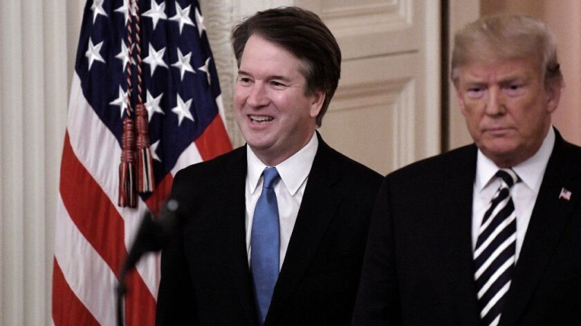 Keeping Kavanaugh front and center helped Trump keep the Senate