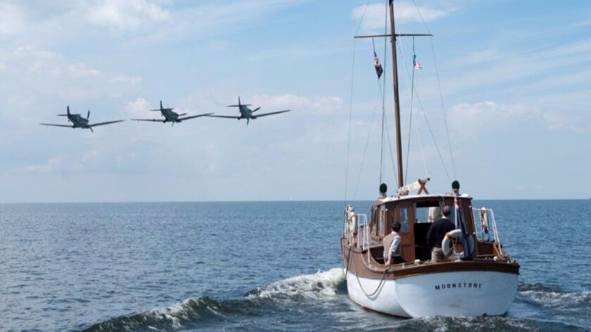 """A scene from the Warner Bros. Pictures action thriller """"Dunkirk."""""""