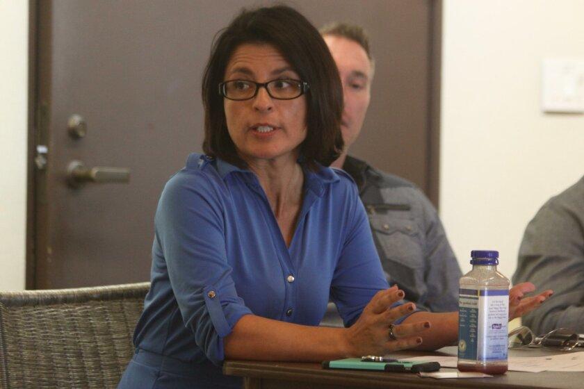 Elsie Arredondo, Economic Development Division team leader of the La Jolla Village Merchants Association.