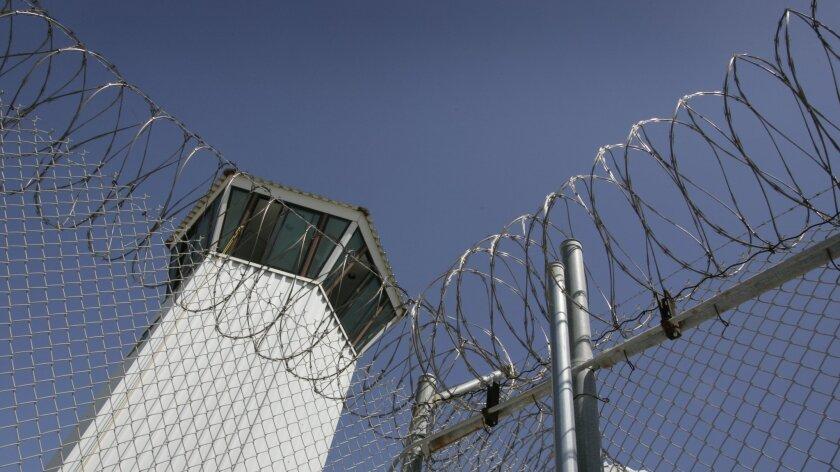 Donovan state prison in the Otay Mesa area.