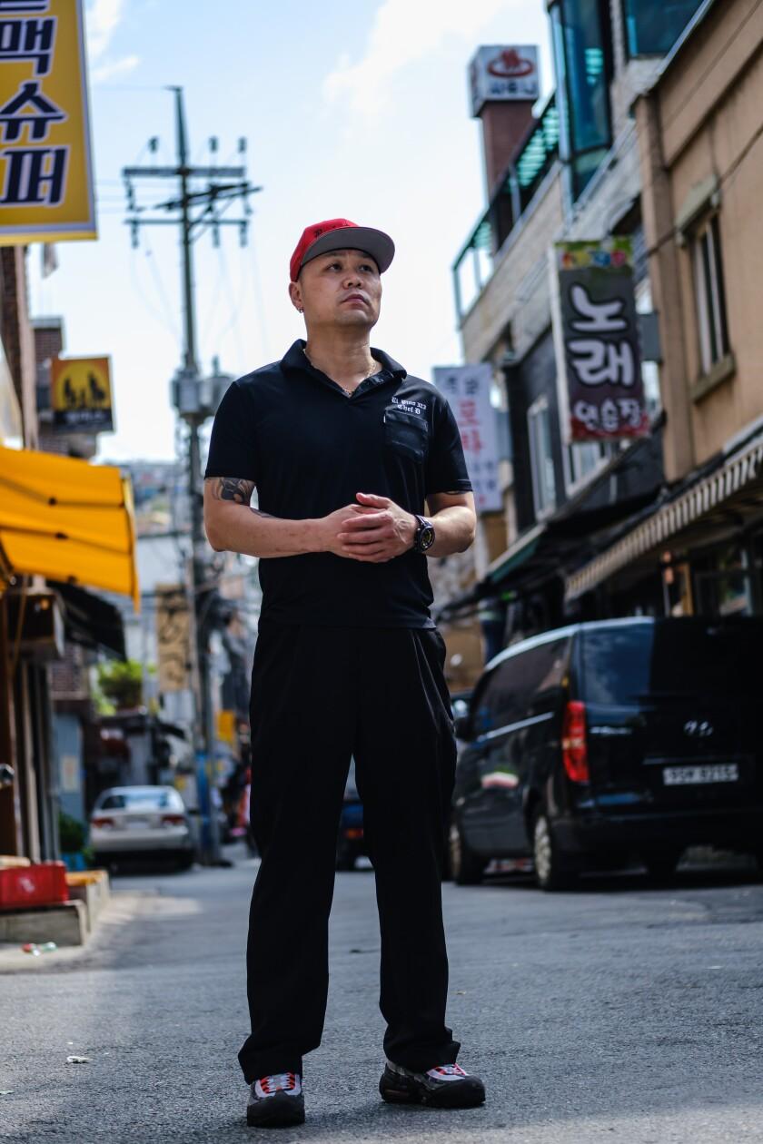 Christian Morales in Seoul