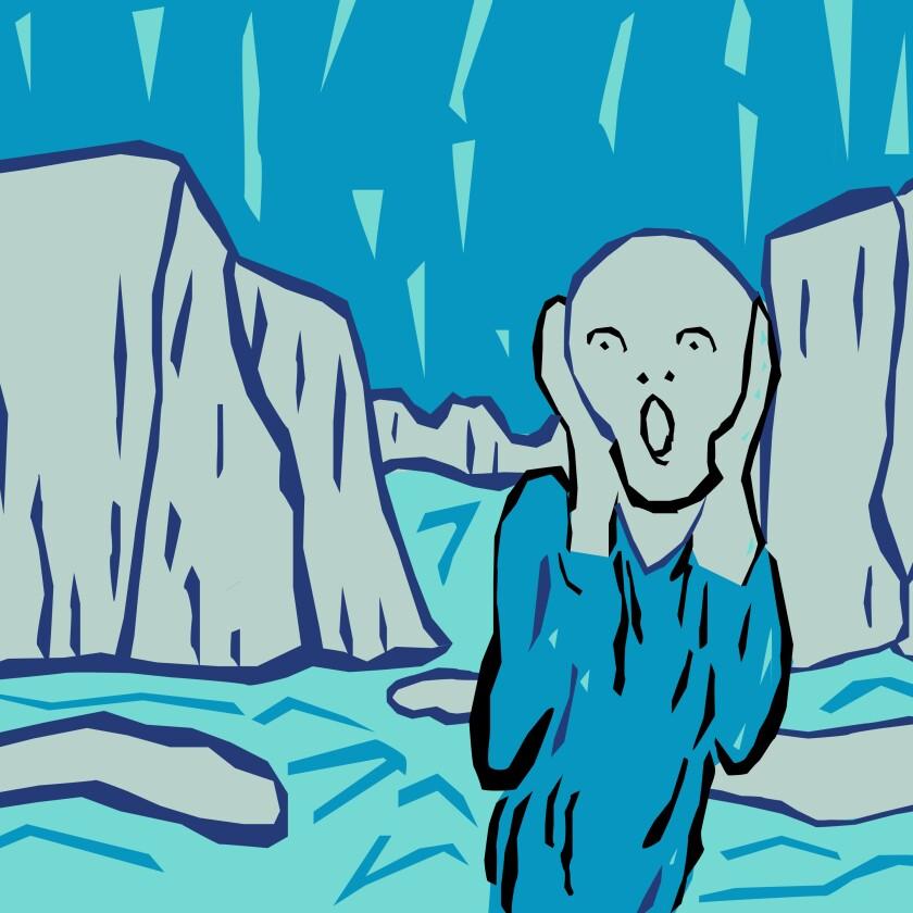 Glaciar Scream illustration