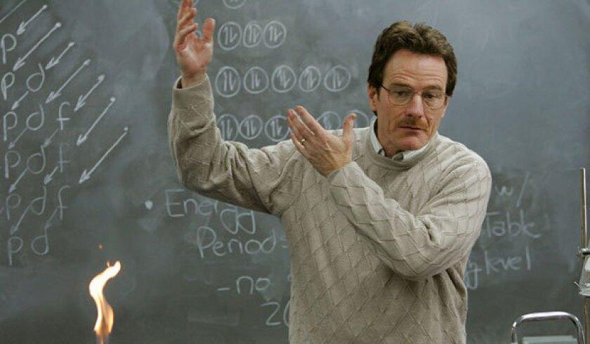Bryan Cranston played Walter White on the AMC series 'Breaking Bad.'