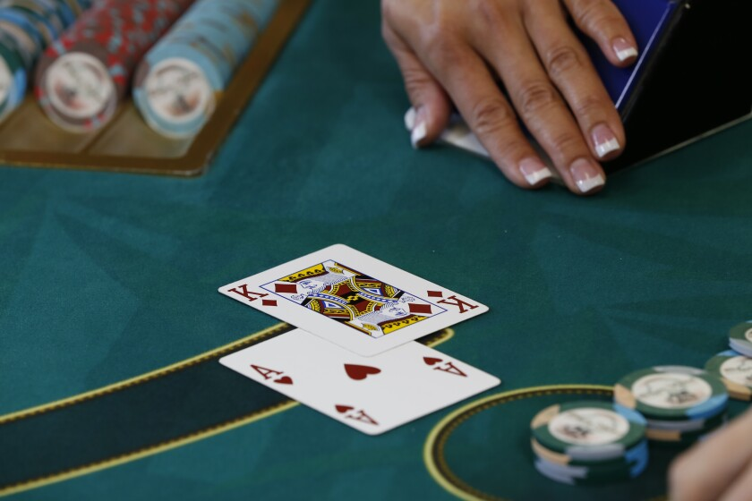 Blackjack is one of the most popular table games in the casino.
