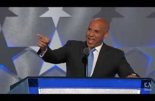 Watch Sen. Cory Booker speak at the Democratic National Convention