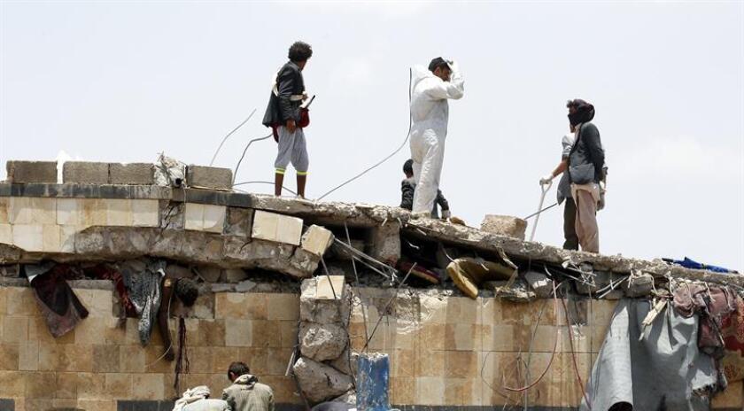 Asimismo, señala el comunicado, en la operación también murieron Abu Layth al Sanaani, uno de los encargados de la infraestructura de Al Qaeda en la provincia de Al Bayda, y otros tres mandos del grupo yihadista. EFE/Archivo