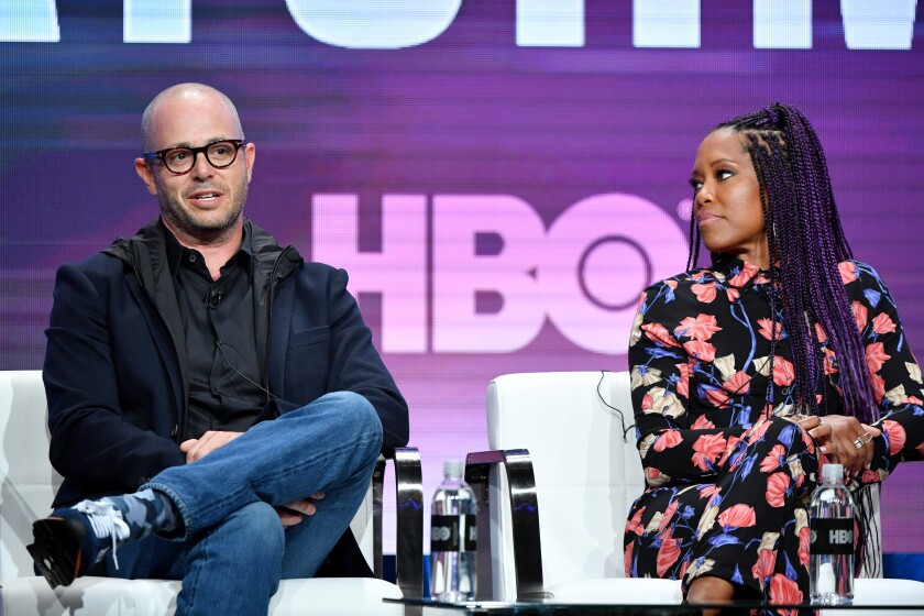 "Damon Lindelof and Regina King talk ""Watchmen"""