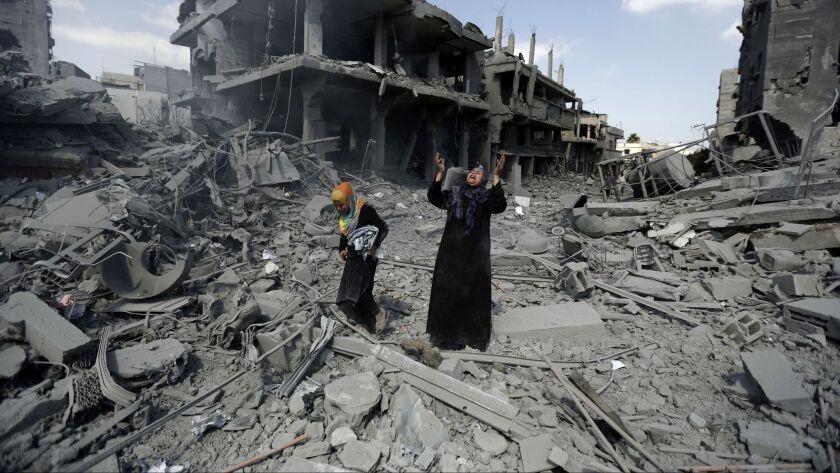 TOPSHOTS-TOPSHOTS 2014-PALESTINIAN-ISRAEL-CONFLICT-GAZA