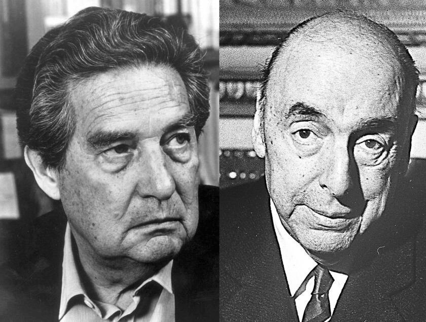 Reviven el legado de Octavio Paz y Pablo Neruda en el Festival de Libros
