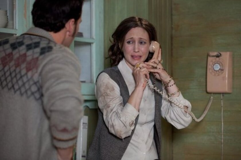 "Vera Farmiga stars in ""The Conjuring,"" which was easily the No. 1 film at the box office this weekend."