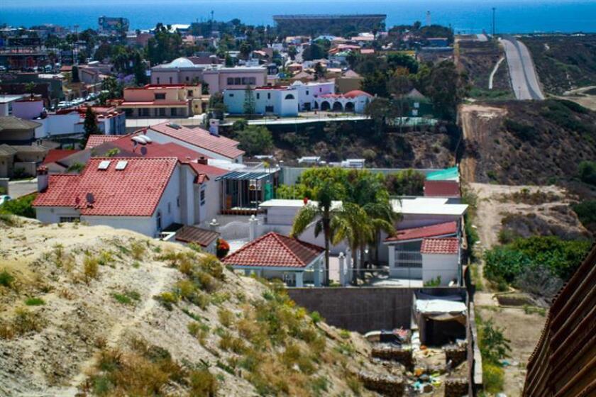La zona residencial Terrazas de Mendoza ubicada en la Delegación Playas de Tijuana, en el estado de Baja California (México).