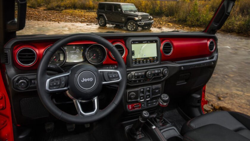 All-new 2018 Jeep® Wrangler Sahara (top) and All-new 2018 Jeep® Wrangler Rubicon (bottom)