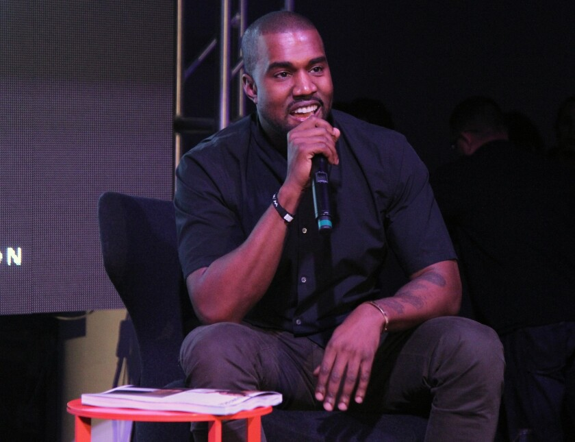 Kanye West addressed his Grammy nominations, or lack thereof, during his show at Phoenix¿s US Airways Center Tuesday night.