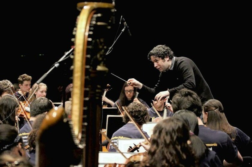 L.A. Phil makes an impression with 'Discover Dudamel'