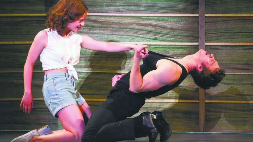 """""""Dirty Dancing — The Classic Story On Stage."""" Photo: Jeremy Daniel"""