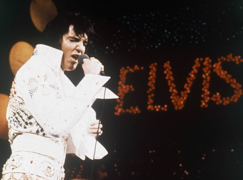 The 36th anniversary of the death of Elvis Presley on Aug. 16, 1977, is being commemorated this week in Memphis, Tenn.
