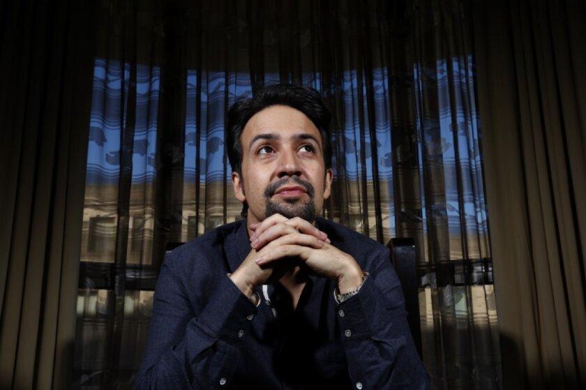 "Lin-Manuel Miranda is an Oscar front-runner for his songs for Disney's ""Moana."""