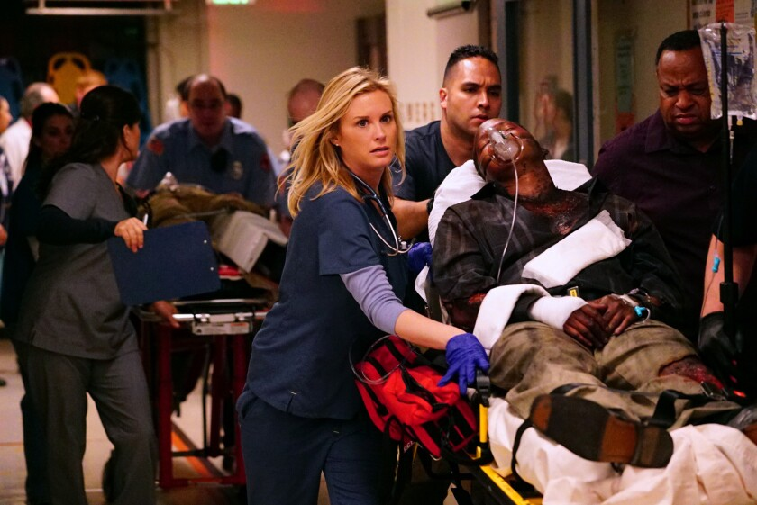 """The CBS drama """"Code Black"""" takes place in the nation's busiest, most notorious emergency room, where the staggering influx of patients can outweigh the limited resources available to the doctors and nurses whose job is to treat them all, creating a condition known as Code Black. The show premieres on Sept. 30."""