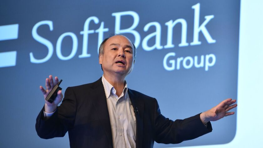 SoftBank Chairman and CEO Masayoshi Son. SoftBank-funded companies including Oyo, WeWork and Zume have been laying off large numbers of employees in recent weeks.