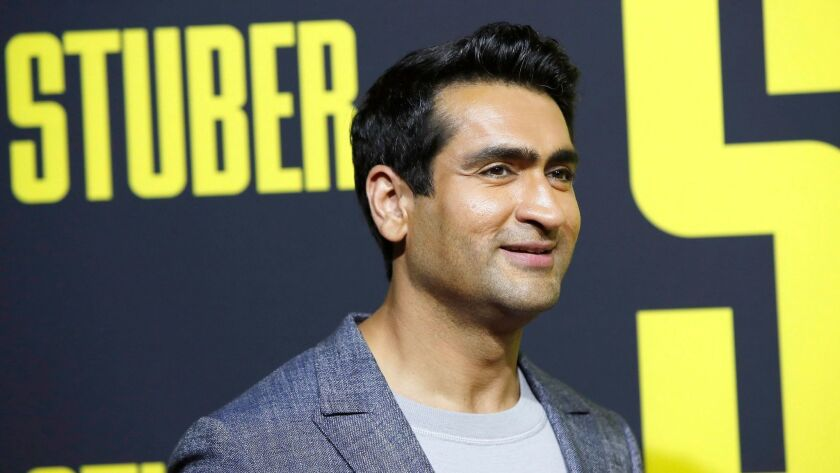 """Comedian and actor Kumail Nanjiani couldn't make it to Thursday's taping of """"Conan."""""""