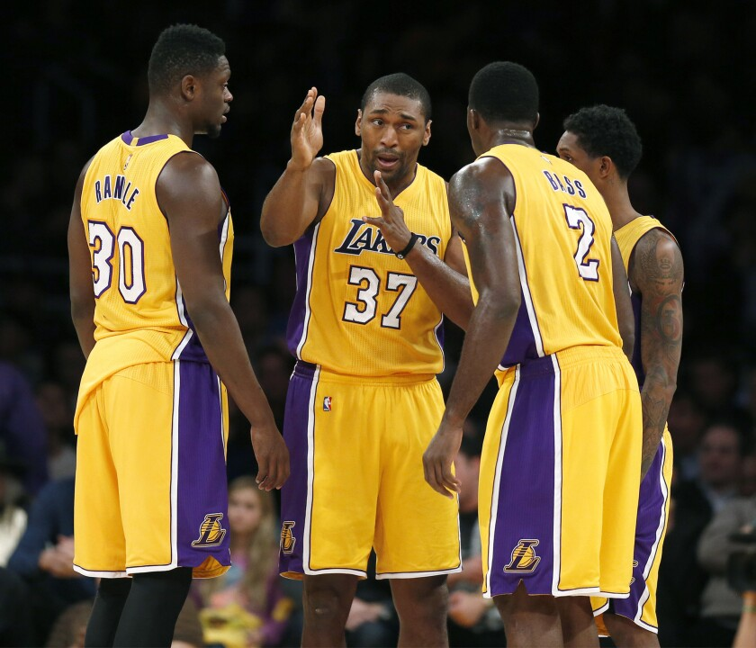 Metta World Peace, Randle, Williams, Bass