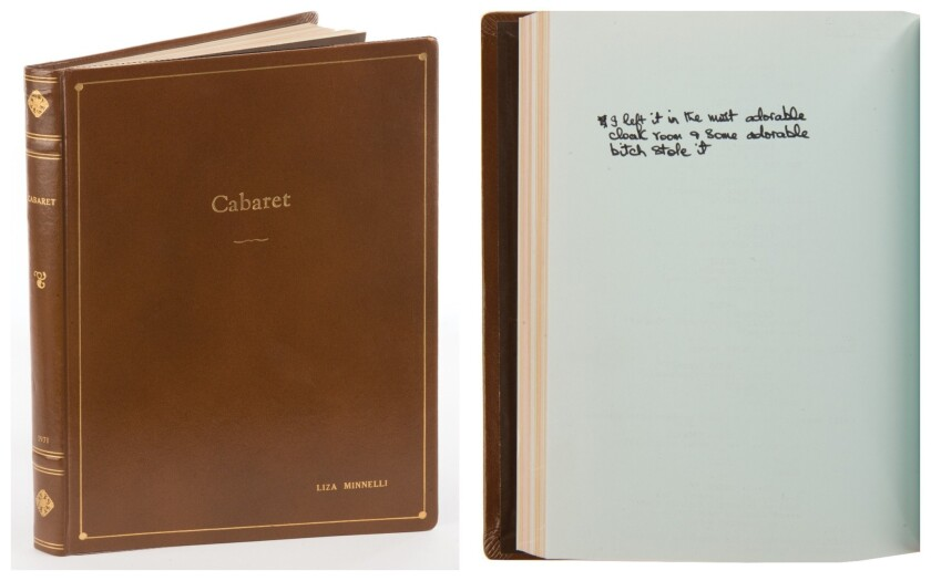 Cabaret script