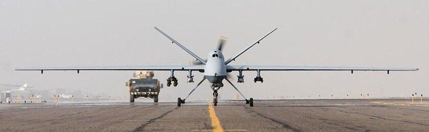 A General Atomics MQ-9 Reaper