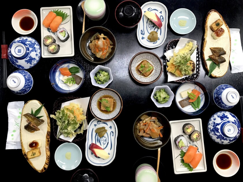 Dinner at Tajimaya. Credit: Charles Fleming