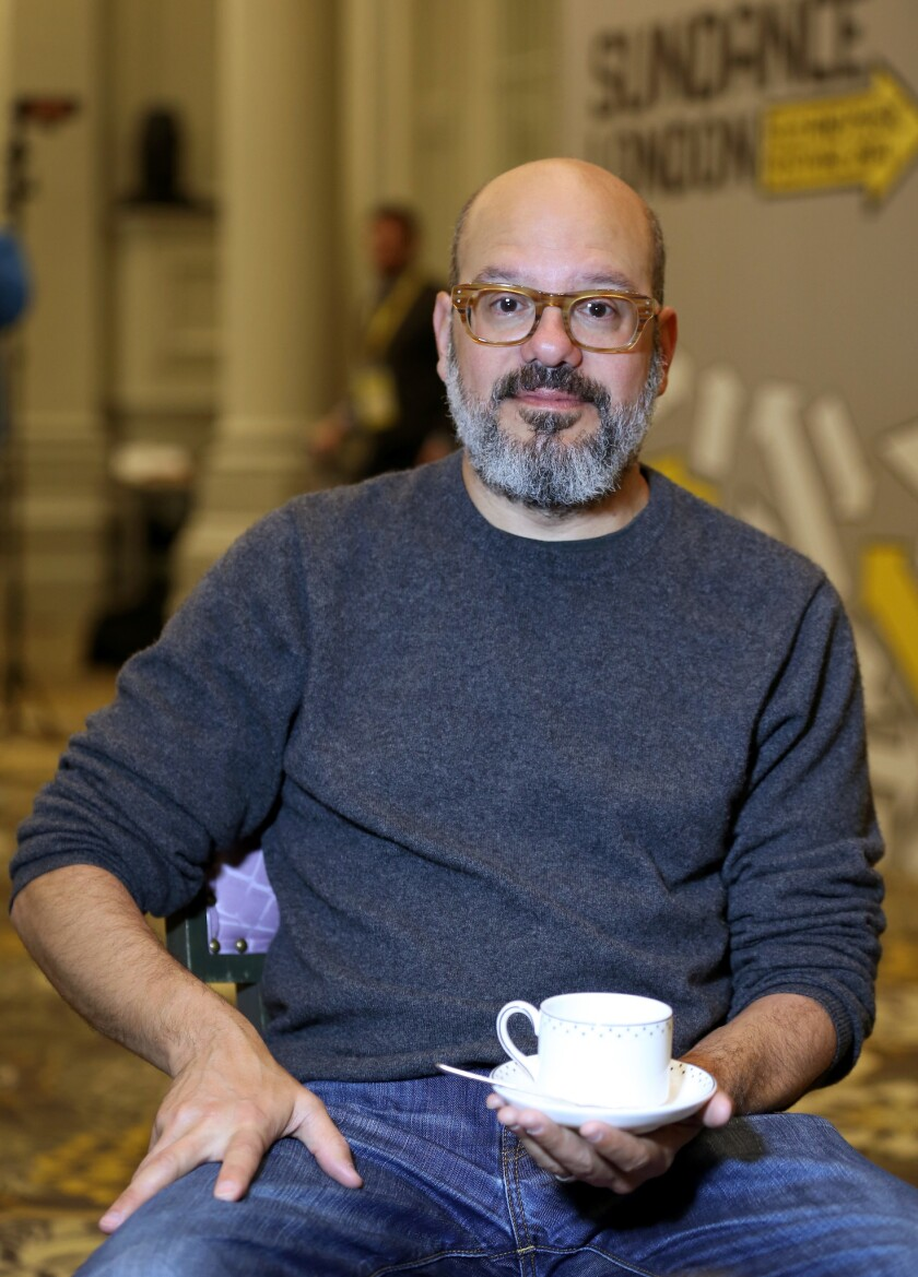 Director David Cross poses as he attends the Film Maker & Press Breakfast during the Sundance London Film and Music Festival 2014 at The Langham Hotel on April 24, 2014 in London, England. (Photo by Tim P. Whitby/Getty Images for Sundance London)