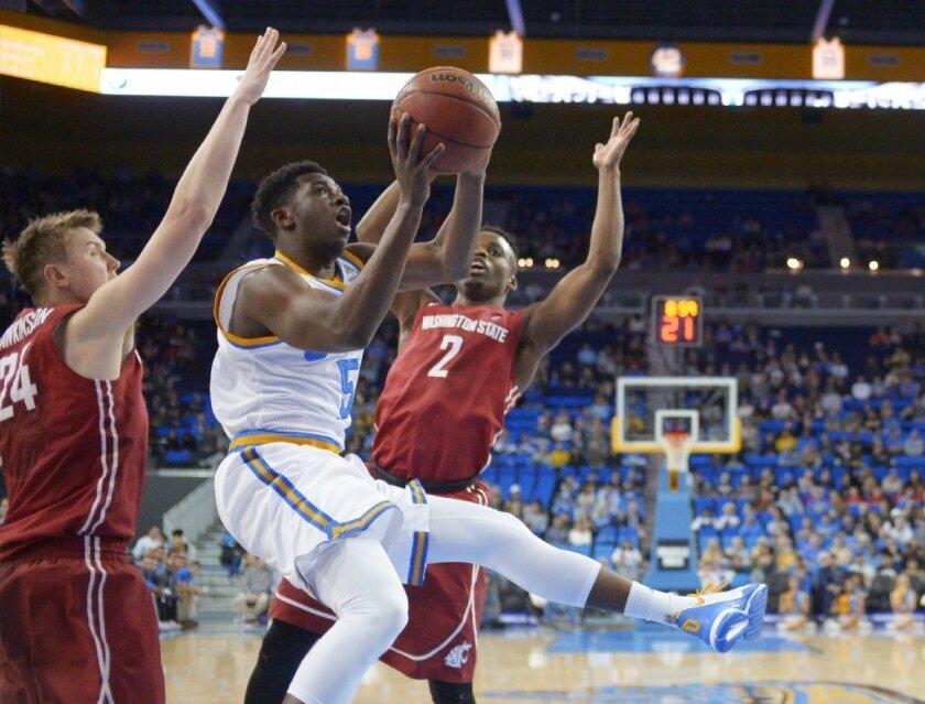UCLA routs Washington State, 83-50, to even season-series